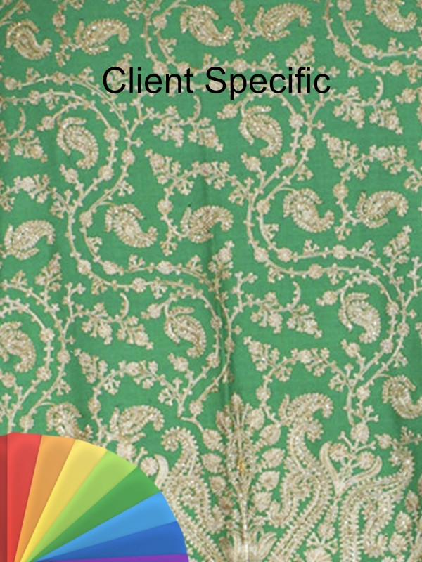 BESPOKE CLIENT SPECIFIC PASHMINA