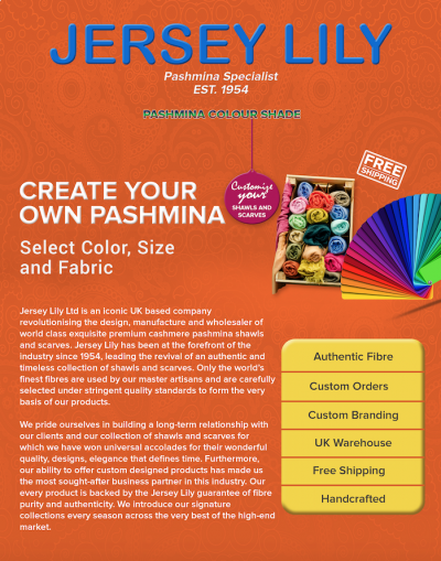 PASHMINA COLOUR SHADE