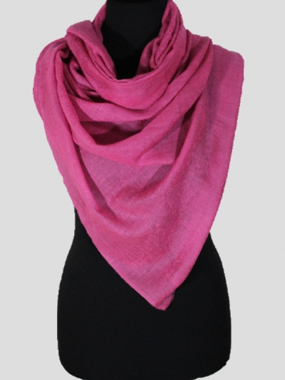 Delicate Pink Handmade Cashmere Pashmina scarf