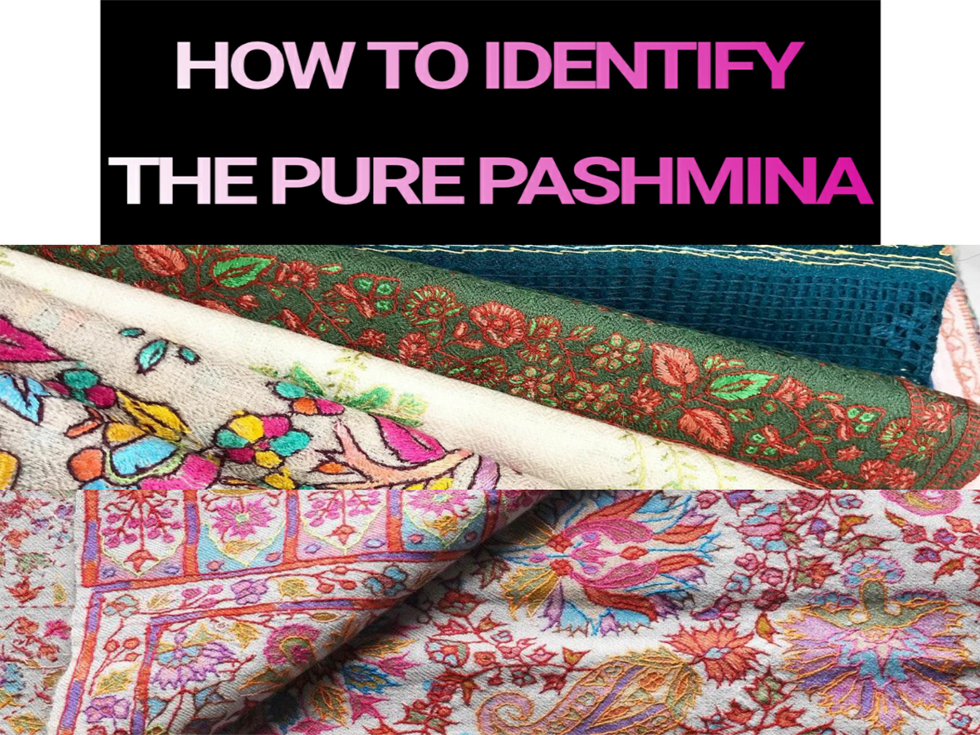 How to identify the real himalayan pashmina
