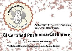 Certified online store to buy pure cashmere pashmina shawls and Scarves